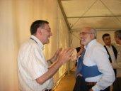Luciano Sterzi con il Procuratore Mario Giulio Schinaia